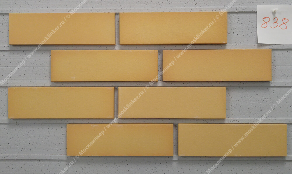 Roben - Rimini, gelb bunt, NF9, 240x9x71, гладкая (glatt) - Клинкерная плитка для фасада и внутренней отделки