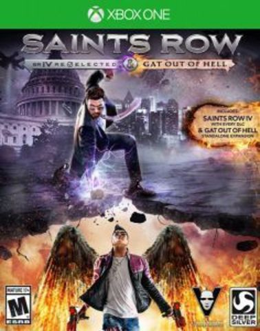 Xbox One Saints Row IV - Re-Elected (русская версия)