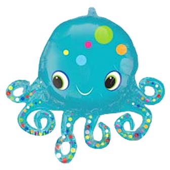 Детям Фольгированный шар Осьминожка осьминожка.jpg