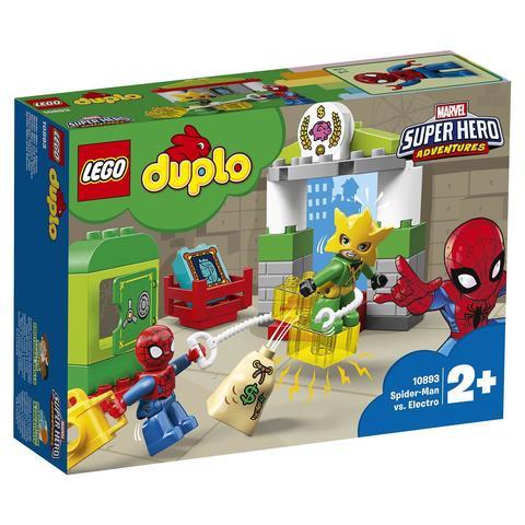 LEGO Duplo: Super Heroes: Человек-паук против Электро 10893 — Spider-Man vs. Electro — Лего Дупло
