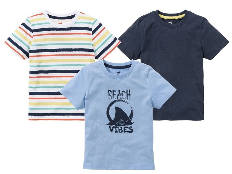 футболка для мальчика 3шт Lupilu