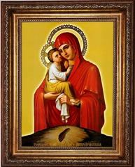 Почаевская Божья Матерь. Икона на холсте.
