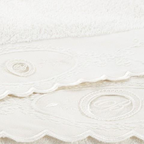 Набор полотенец 2 шт Blumarine Anjelica белый