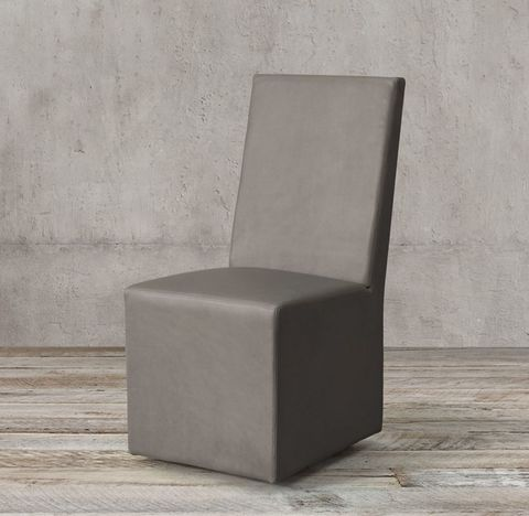 Ellison High-Back Leather Side Chair