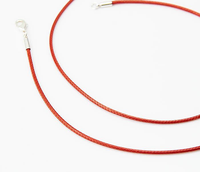 PL277-6 Шнурок для подвески красного цвета фото 03
