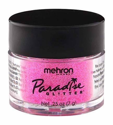 MEHRON Рассыпчатые блестки Paradise Glitter, Pastel Pink (Пастельный розовый), 7 г
