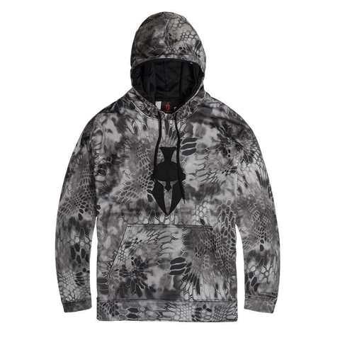 Толстовка с капюшоном KRYPTEK Tartaros hoodie  Raid™/black