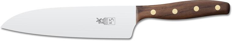 """Нож поварской """"Шеф"""" Windmuhlenmesser K5 Kochmesser, 182 мм (грецкий орех)"""