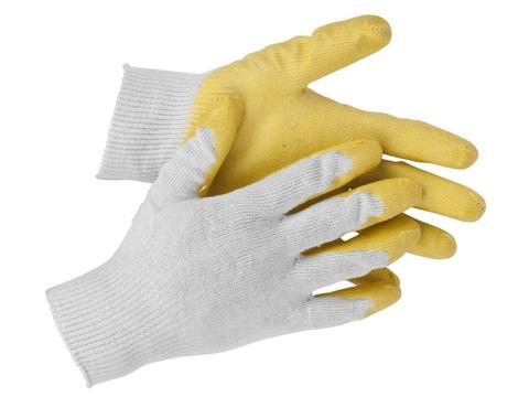 STAYER PROTECT, размер S-M, перчатки с одинарным латексным обливом, 11408-S