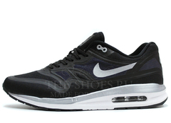 Кроссовки Мужские Nike Air Max 87 Lunarlon Black Silver White