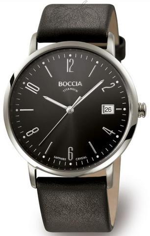 Купить Мужские наручные часы Boccia Titanium 3557-02A по доступной цене