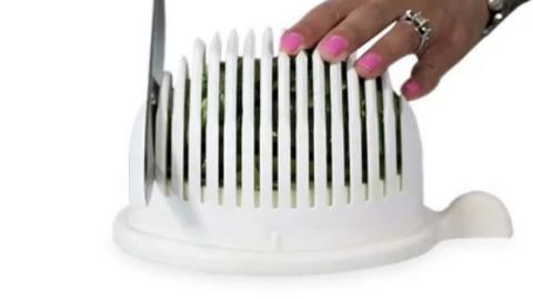 Салатница-овощерезка Salad Cutter Bowl 2 в 1