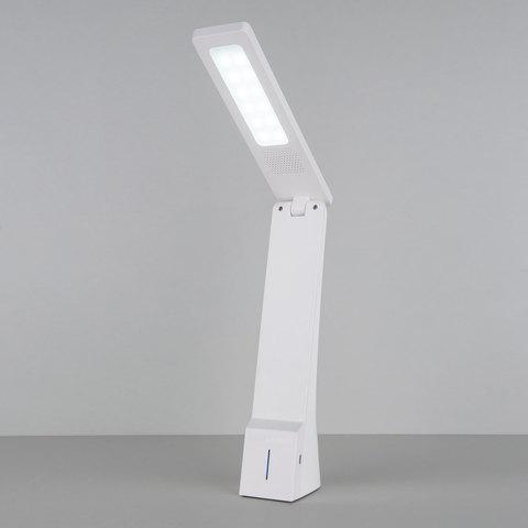 Настольный аккумуляторный светодиодный светильник Desk белый/золотой (TL90450)