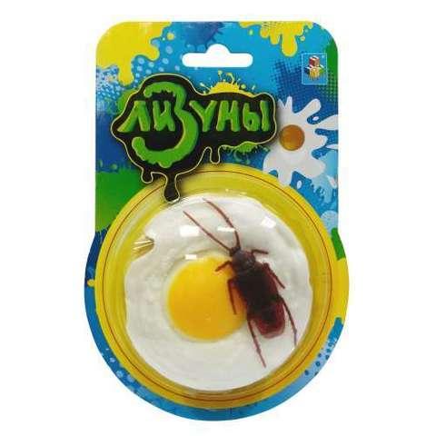Лизун яичница с тараканом