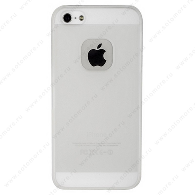Накладка MOMAX для iPhone SE/ 5s/ 5C/ 5 белая