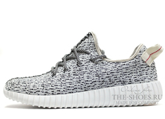Кроссовки Мужские Adidas Originals Yeezy 350 Boost Grey