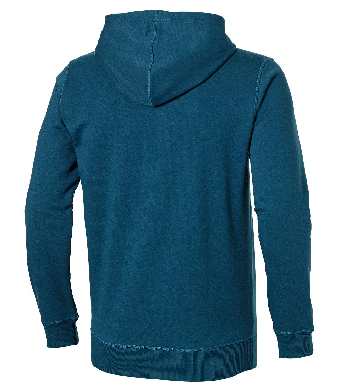 Мужская спортивная толстовка Asics Camou Logo Hoodie (131528 0053) синяя фото