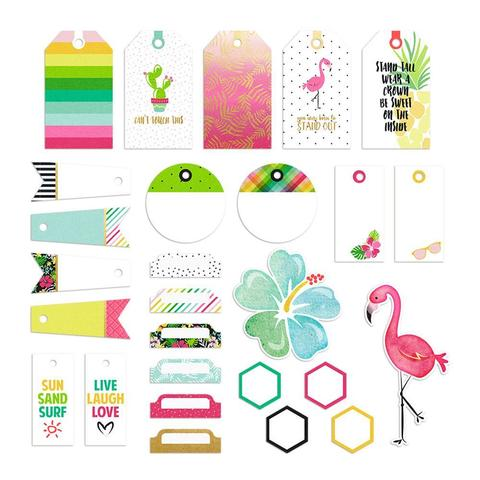 Высечки Hello Sunshine Cardstock Tags Pack