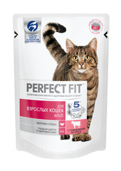 PERFECT FIT для кошек с говядиной 85 г
