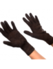 Перчатки женские из верблюжьей шерсти со стразами