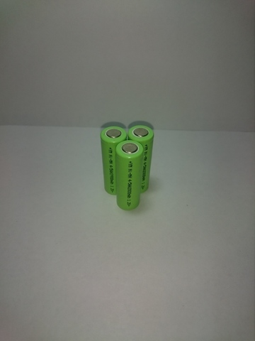 Аккумулятор 4/5АА Ni-Mh 2000mAh 1,2V 2,4Wh