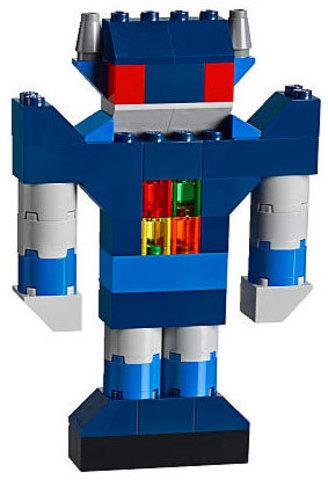 LEGO Classic: Дополнение к набору для творчества – яркие цвета 10693