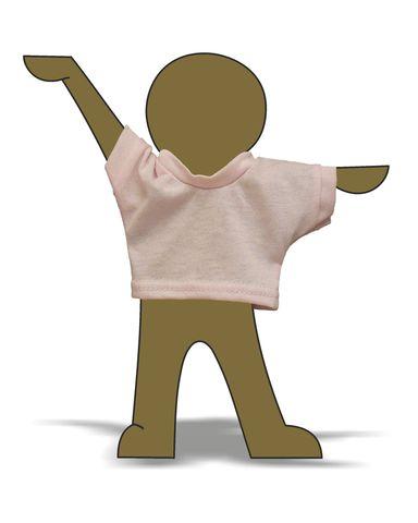 Футболка - Демонстрационный образец. Одежда для кукол, пупсов и мягких игрушек.