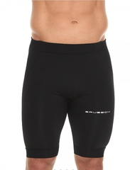 Мужские укороченные тайтсы Brubeck Sport (LB10140) черные