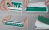 Световой оповещатель 12-24 серии Топаз имеет специальные защелки для быстрой смены надписи