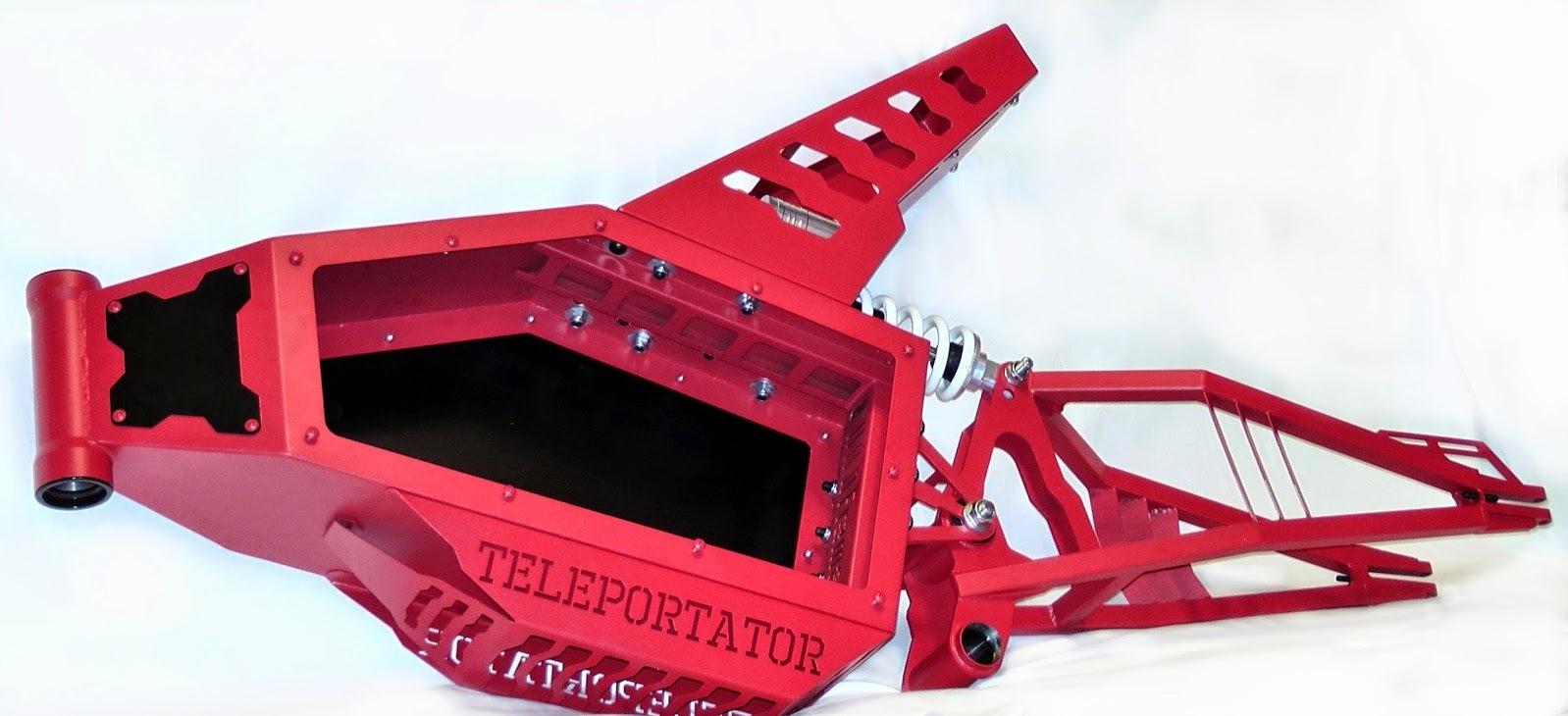 Телепортатор Медиум - рама для Электровелосипеда