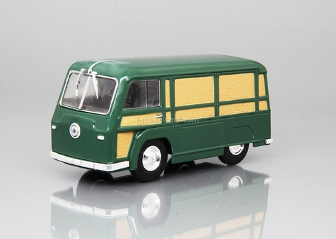 NAMI-750 1948-1951 green 1:43 DeAgostini Auto Legends USSR #225