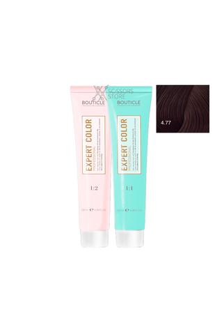 Expert Color Hair Color Cream 4/77 шатен интенсивный шоколадный 100 мл