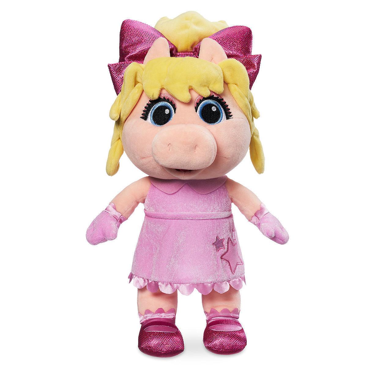 Маппет шоу мягкие игрушки малыши Кермит и Мисс Пигги