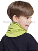 Баф с шерстью мериноса Norveg Монстр для детей и взрослых лайм
