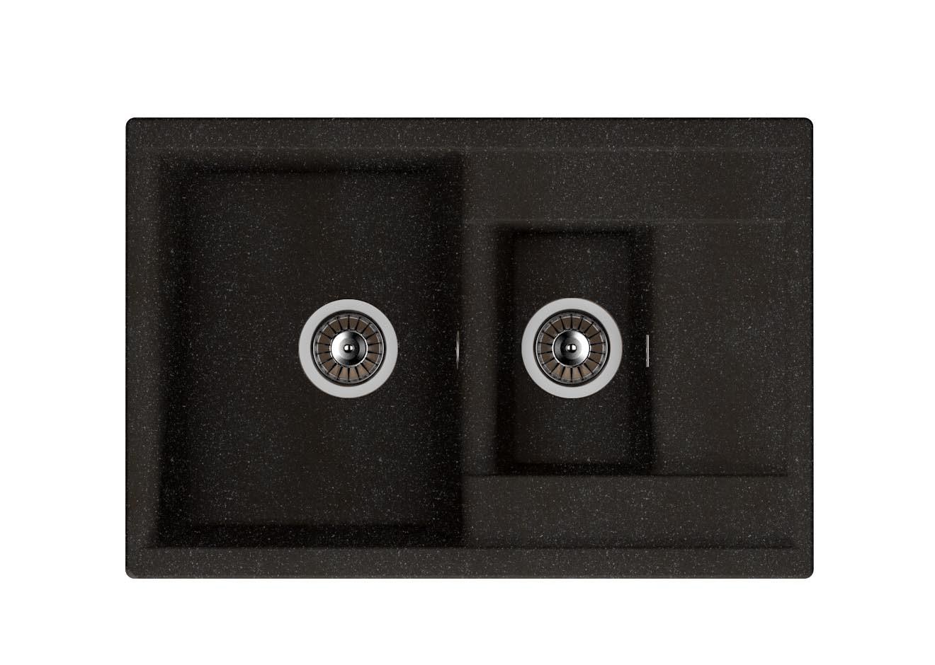 Кухонная мойка Dr. Gans Astra 760K Черный