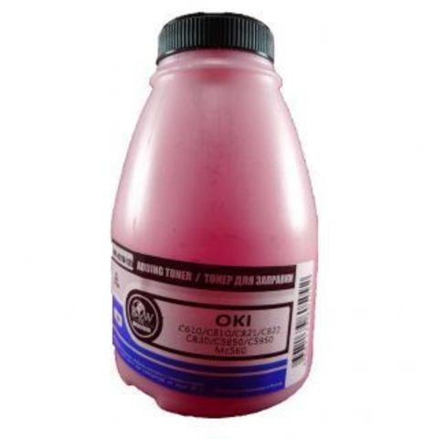 Тонер TOMOEGAWA пурпурный для OKI универсальный, глянцевый 250 гр.