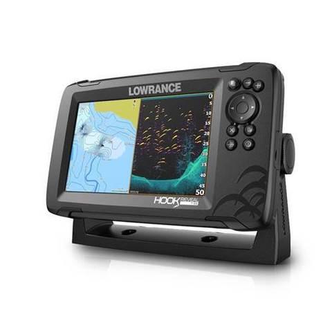 Эхолот-картплоттер HOOK REVEAL 7 50/200/455/800кГц HDI ROW   НОВИНКА!