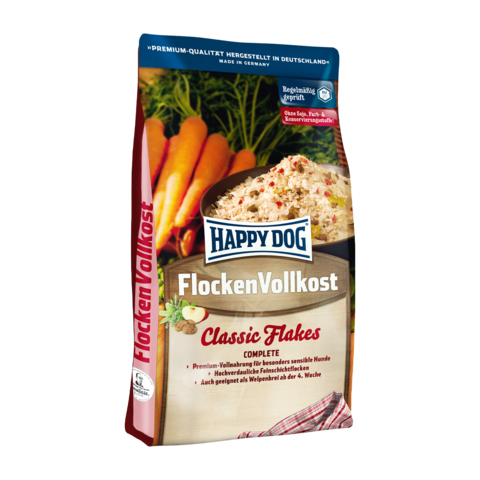 Happy Dog Flakes Flocken Vollkost Сухой корм для собак