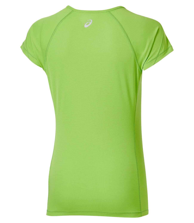 Женская футболка для бега Asics SS Top (110422 0473) лайм фото