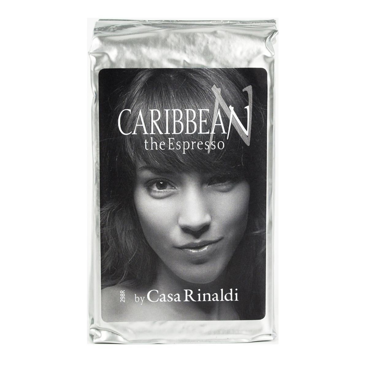 Кофе Casa Rinaldi натуральный жареный эспрессо Карибский молотый 250 гр