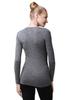 Комплект термобелья из шерсти мериноса Норвег Soft Grey Melange женский