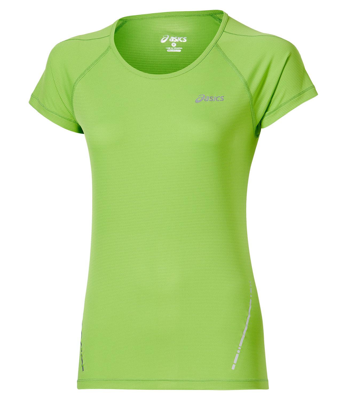 Женская беговая футболка Asics SS Top (110422 0473) лайм фото