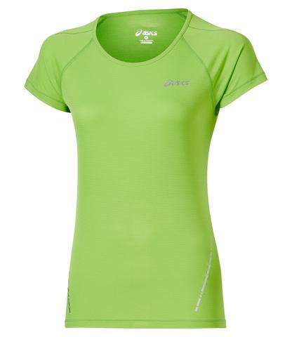 Asics SS Top Женская футболка для бега лайм