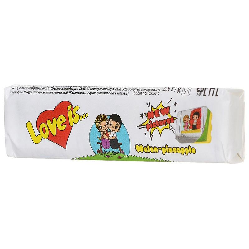 Love Is - новые вкладыши, любимые вкусы (дыня-ананас)