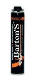 Пена монтажная Barton'S BS PRO 65+ профессиональная 750 мл (16шт/кор)