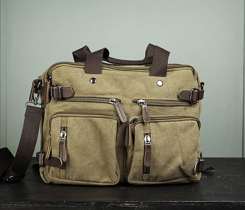 Вместительный рюкзак трансформер мужской