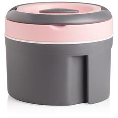 Термокастрюля 2.5л Pinnacle розовая крышка