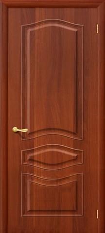 Дверь Дера Леона, цвет итальянский орех, глухая