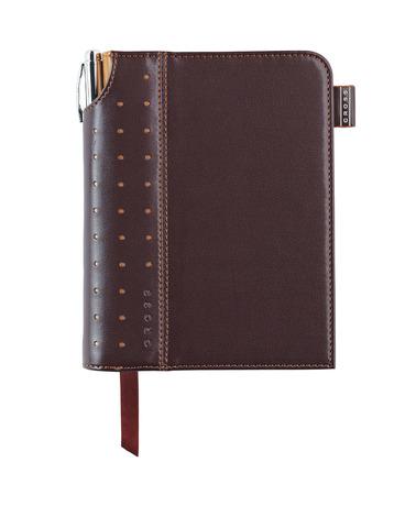 Записная книжка Cross Journal Signature A6, 250 страниц в линейку, ручка 3/4 в комплекте. Цвет -  ко