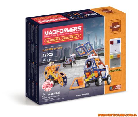 Magformers Суперкрейсер, 42 элемента